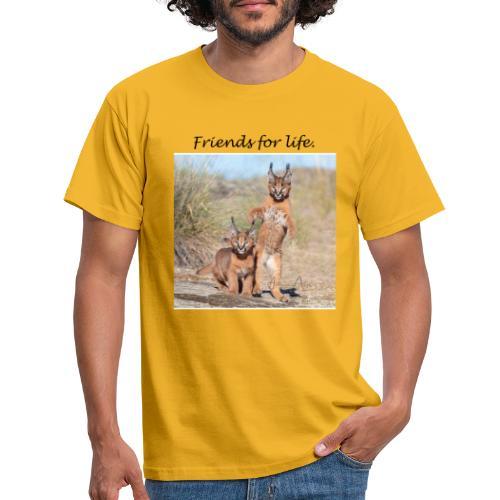 Amigos para la vida - Camiseta hombre