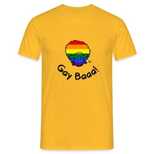 Homosexuell Baaa! Regenbogen-Stolz-Schafe - Männer T-Shirt