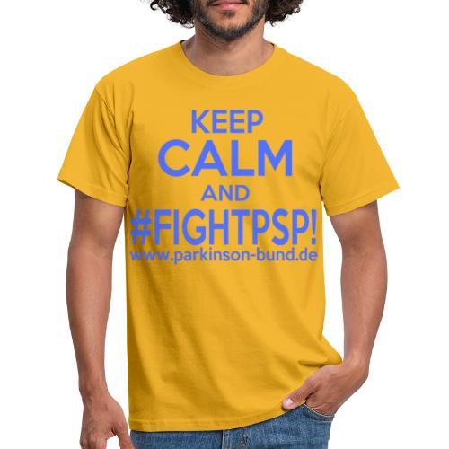 Fight P S P - Männer T-Shirt