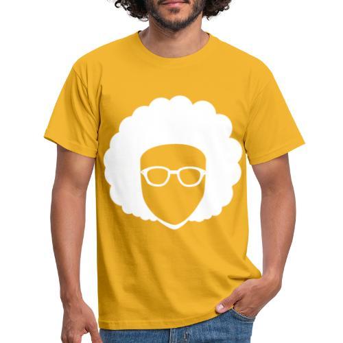 Afro Nerd - nerdy - Men's T-Shirt