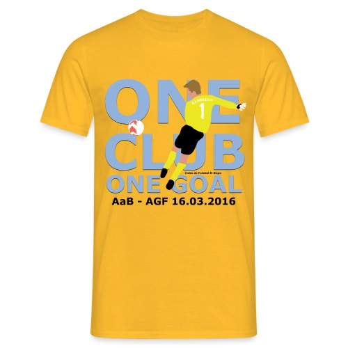 One Club One Goal - Herre-T-shirt
