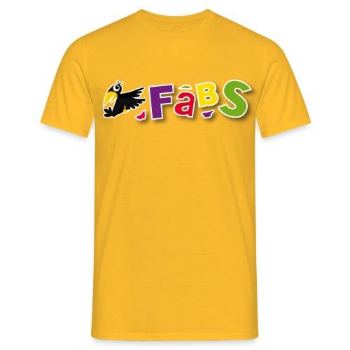 fabslogo trans - Männer T-Shirt