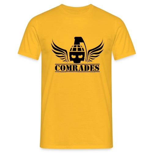 comrade LOGO black - T-shirt Homme