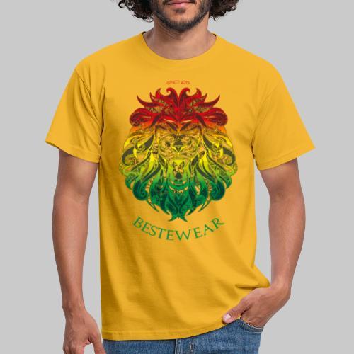 #Bestewear - Rastafari Lion - Männer T-Shirt