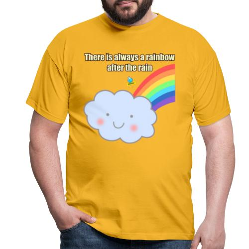 Bubbly! Rainbow - Maglietta da uomo