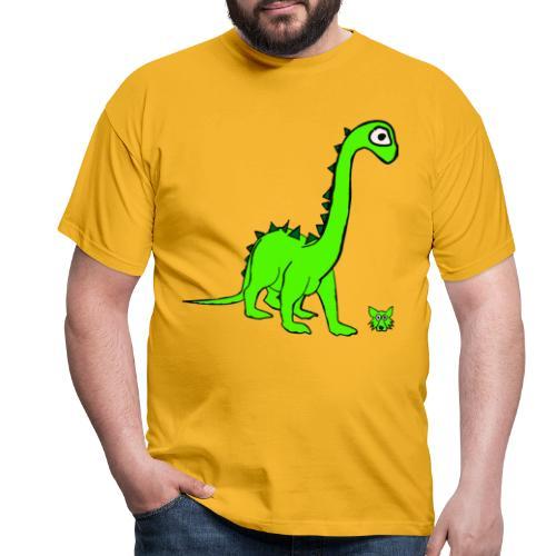 dinosauro - Maglietta da uomo