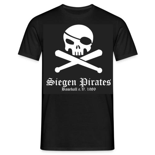 SIEGEN PIRATES [bw] - Männer T-Shirt