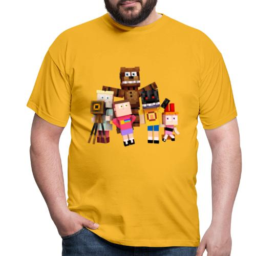 Withered Bonnie Productions - Meet The Gang - Men's T-Shirt