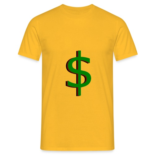 dollar - Mannen T-shirt