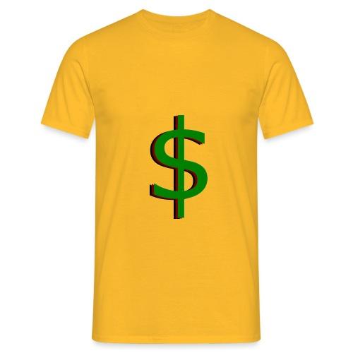 dollar - Mannen T-shirt