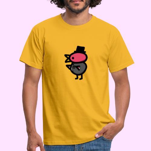 Fancy Pinkguin - Herre-T-shirt