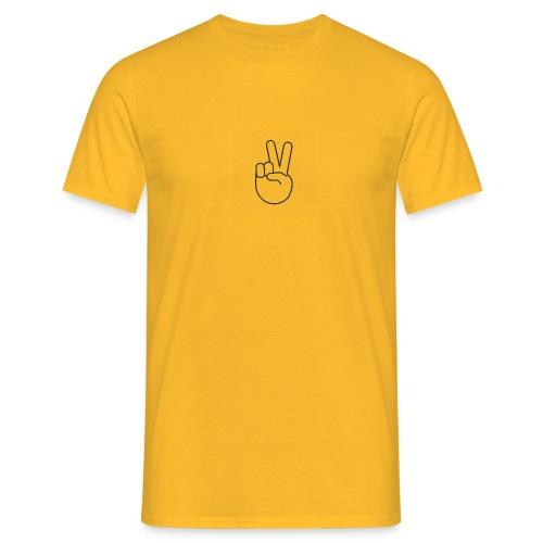 peace symbol - Herre-T-shirt