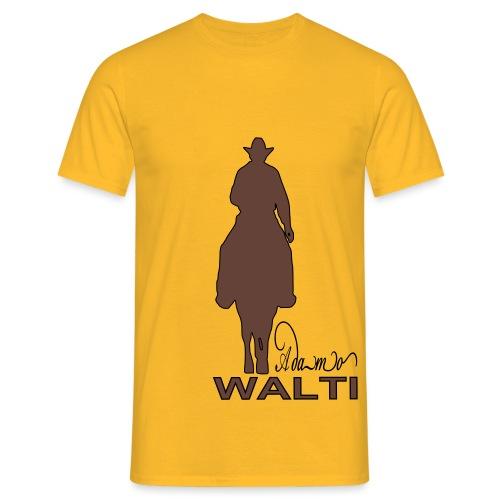 adamo sill schrift klein - T-shirt Homme