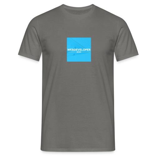 Web developer News - Männer T-Shirt