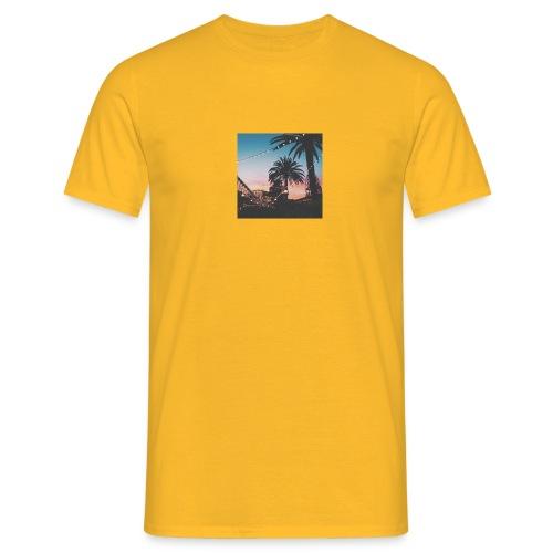 HAWAII TREES NIGHT CLOTHING - EXELLENT VIEW - Männer T-Shirt