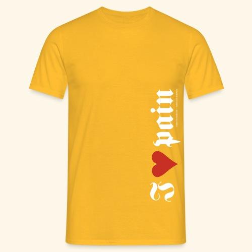 I <3 pain - Männer T-Shirt