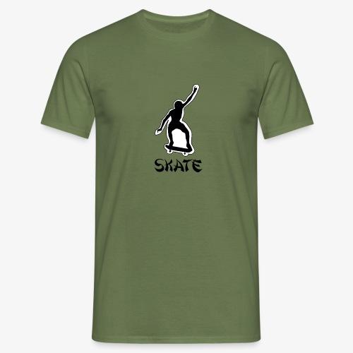 skate - Mannen T-shirt
