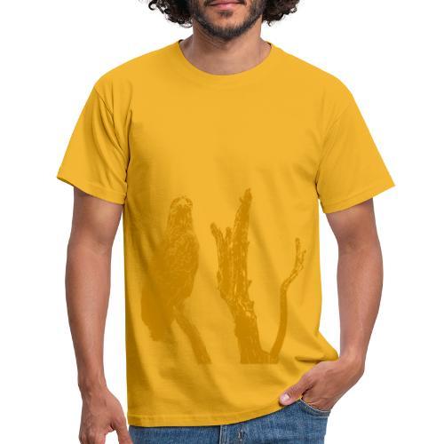 Seeadler auf Baum - Männer T-Shirt