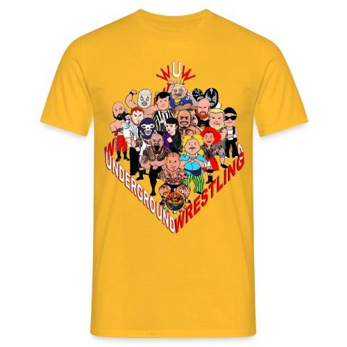 comics-wrestler - Männer T-Shirt