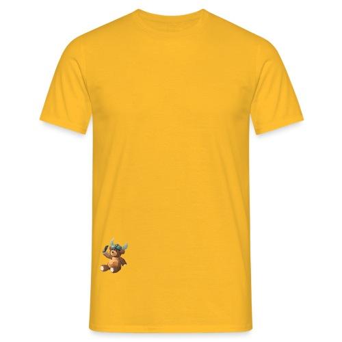 SelfieBjørn fra Casinoselfie.com - T-skjorte for menn