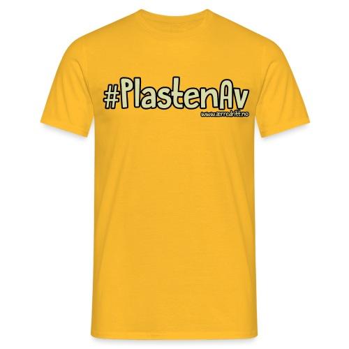 PlastenAv png - T-skjorte for menn