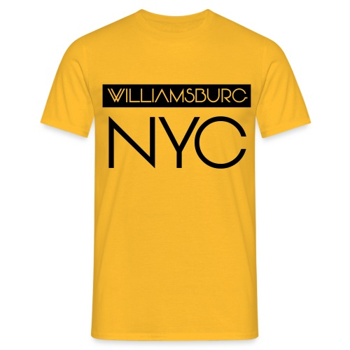 williamsburg - Men's T-Shirt