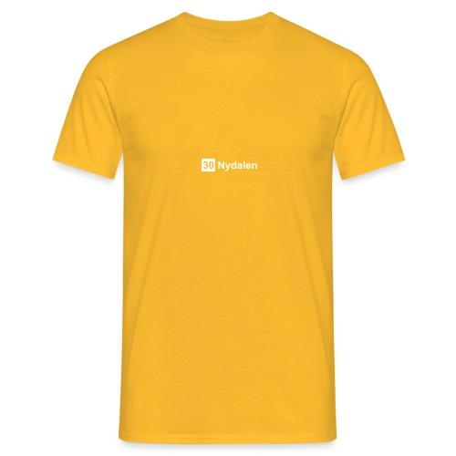 nydalen - T-skjorte for menn