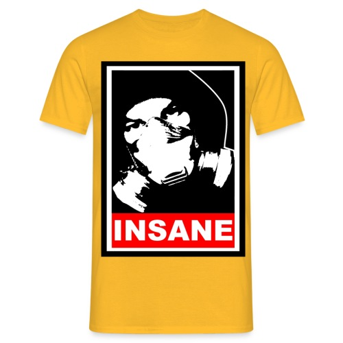obey insane - Männer T-Shirt