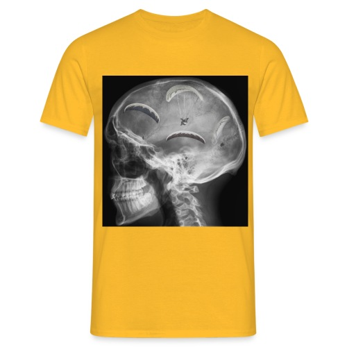 Paragliding im Kopf - Männer T-Shirt