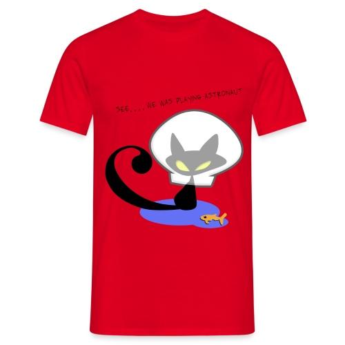 ASTRONAUT - Mannen T-shirt