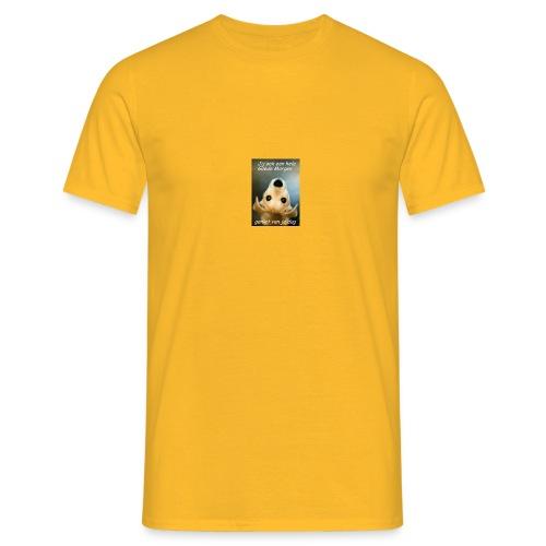 geniet van je dag - Mannen T-shirt