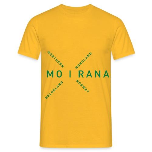Mo i Rana - Northern Norway - T-skjorte for menn