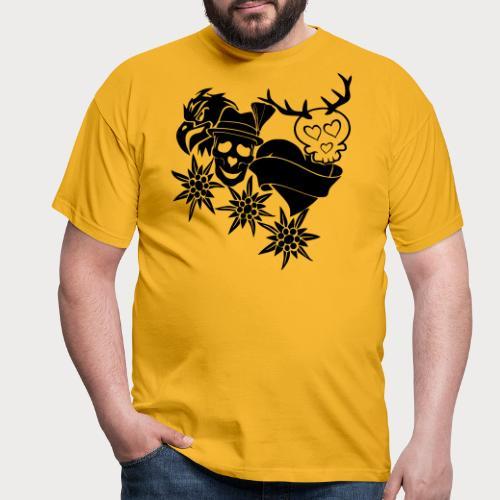 Tracht Old School - Männer T-Shirt