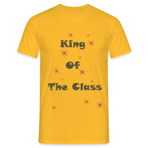 king of the class - T-shirt Homme