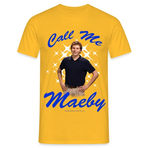 ArrestedDevelopment Call me Maeby - Männer T-Shirt