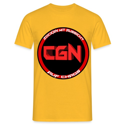 CGN Logo - Männer T-Shirt