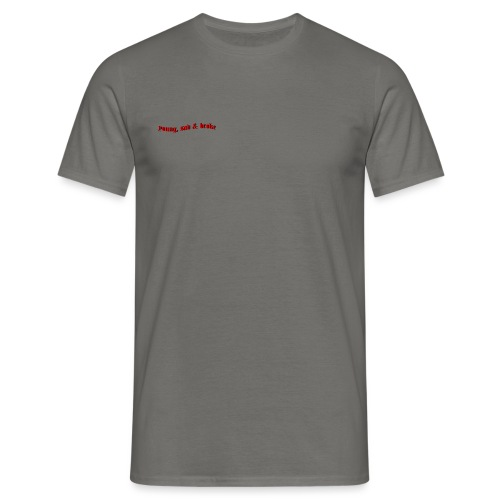 Young, Sad & Broke - Men's T-Shirt
