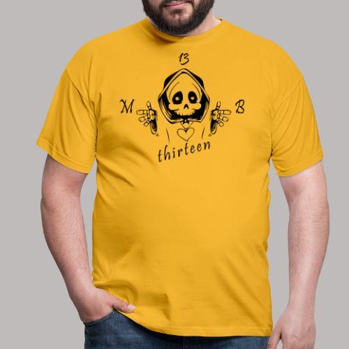 MB13 - Skull - Men's T-Shirt