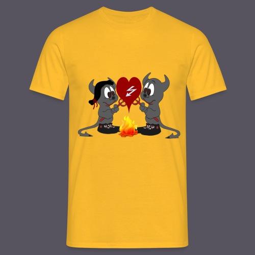Devils Love - Männer T-Shirt