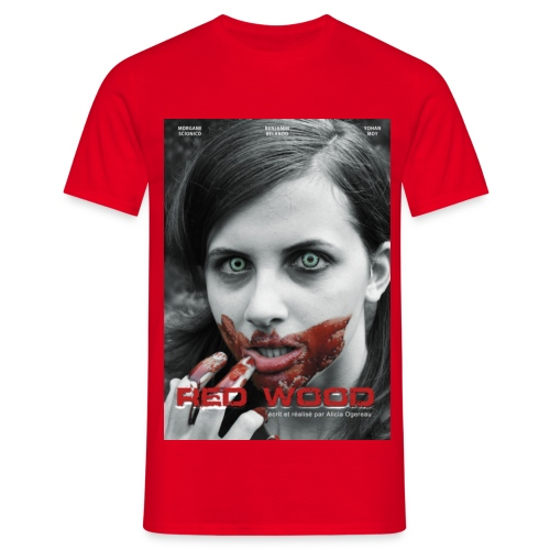 affiche Red Wood - T-shirt Homme