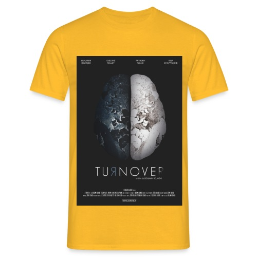 affiche Turnover - T-shirt Homme