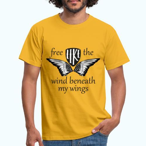 Free like the wind beneath my wings - Men's T-Shirt