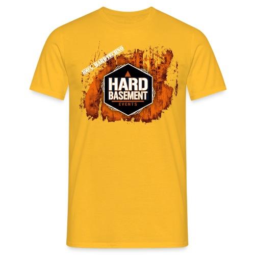 hb shirt neu brush orange png - Männer T-Shirt