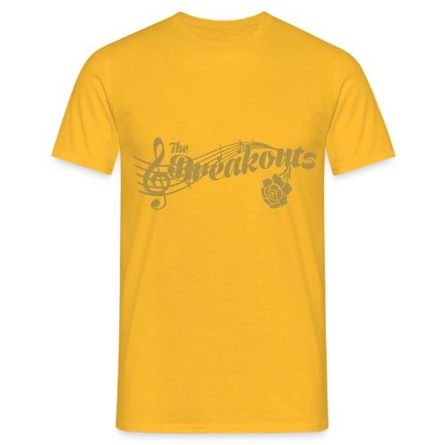 the breakouts logo - T-shirt herr