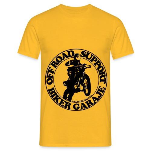 Off Road Support Black - Camiseta hombre