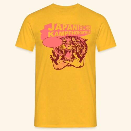 JAPANISCHE KAMPFHÖRSPIELE Tiger - Männer T-Shirt