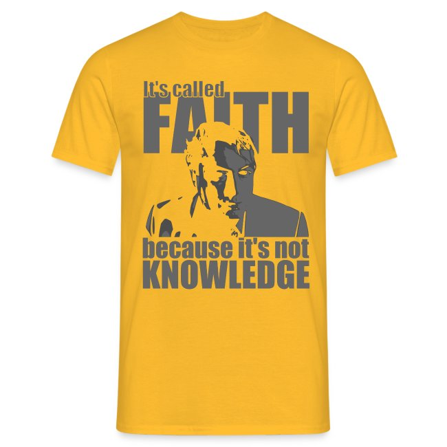 Hitchens It s called FAITH