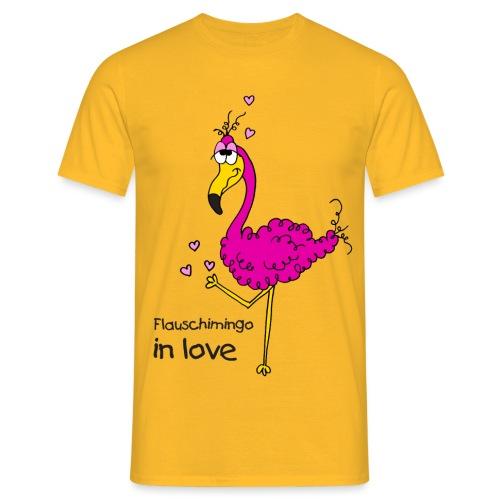 Flauschimingo in love - Männer T-Shirt