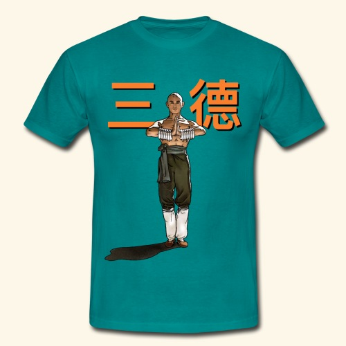 Gordon Liu - San Te - Monk (Official) 6 prikker - Herre-T-shirt