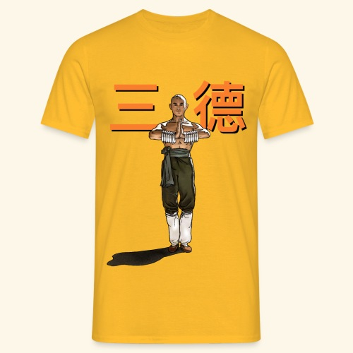 Gordon Liu - San Te - Monk (Official) 6 dots - Mannen T-shirt
